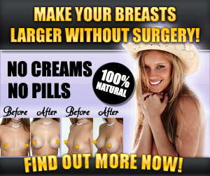 how to improve breast size naturally at home